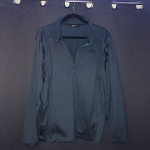 The north face pullover- blue